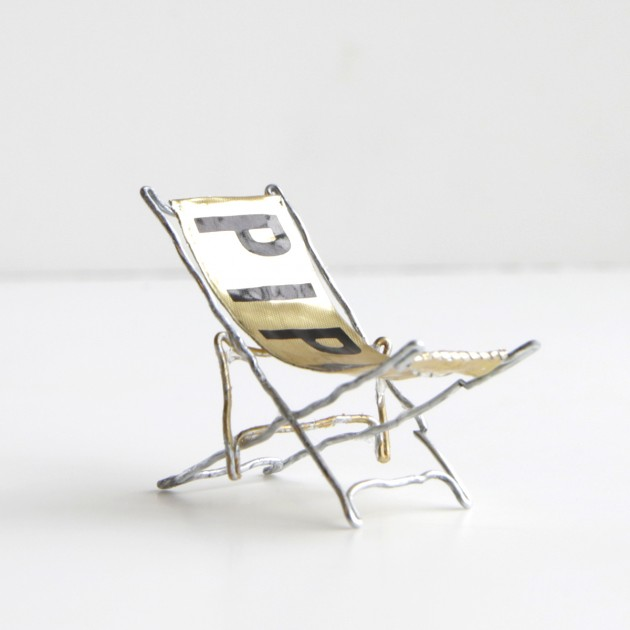 "la terza classificata: ""Piper Beach Chair"" di Jeffrey Burke Whitten"