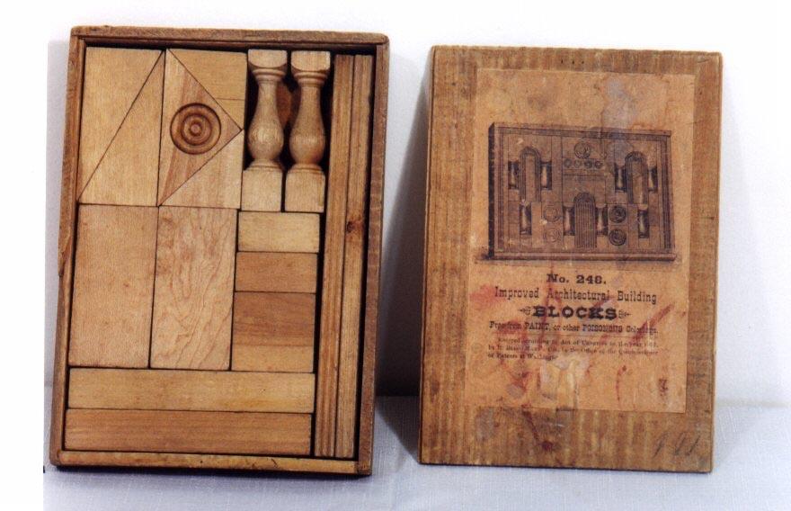 Bliss Building Blocks materiali: legno epoca: fine '800
