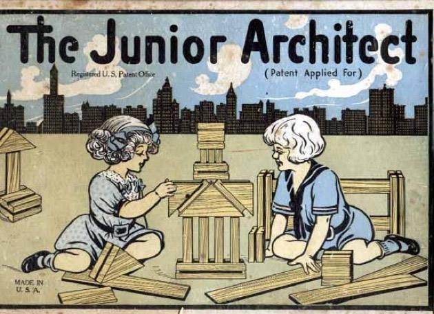 The Junior Architect materiali: legno epoca: anni '20