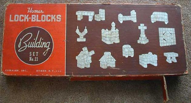 Lock-Blocks materiali: legno epoca: anni '30 e '40