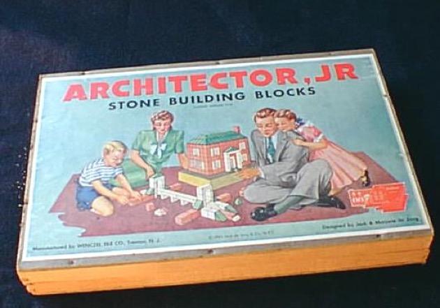 Architector Jr. materiali: pietra artificiale epoca: anni '40