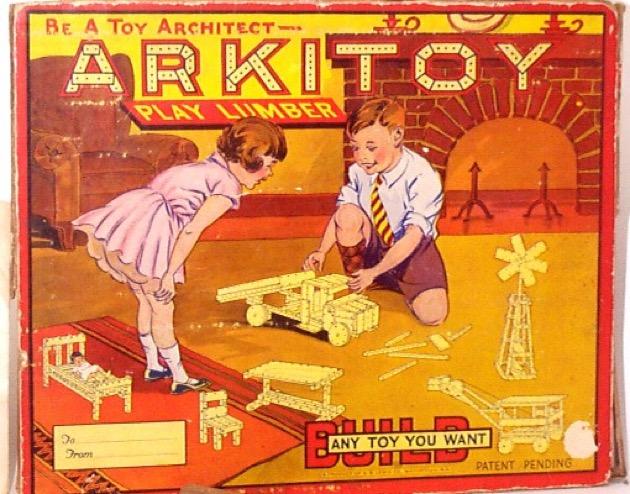 Arkitoy materiali: legno epoca: anni '30
