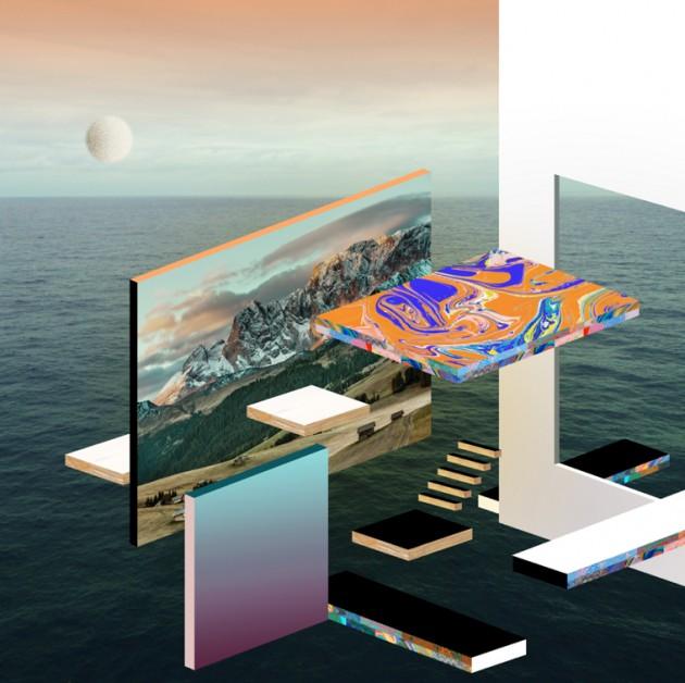 Hvass & Hannibal, bozzetto digitale per la copertina di un disco, anno sconosciuto