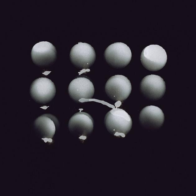 """Michael Cina, bozzetto per la copertina del disco """"Jesu: Pale Sketches Demixed"""" di Pale Sketcher, 2010"""