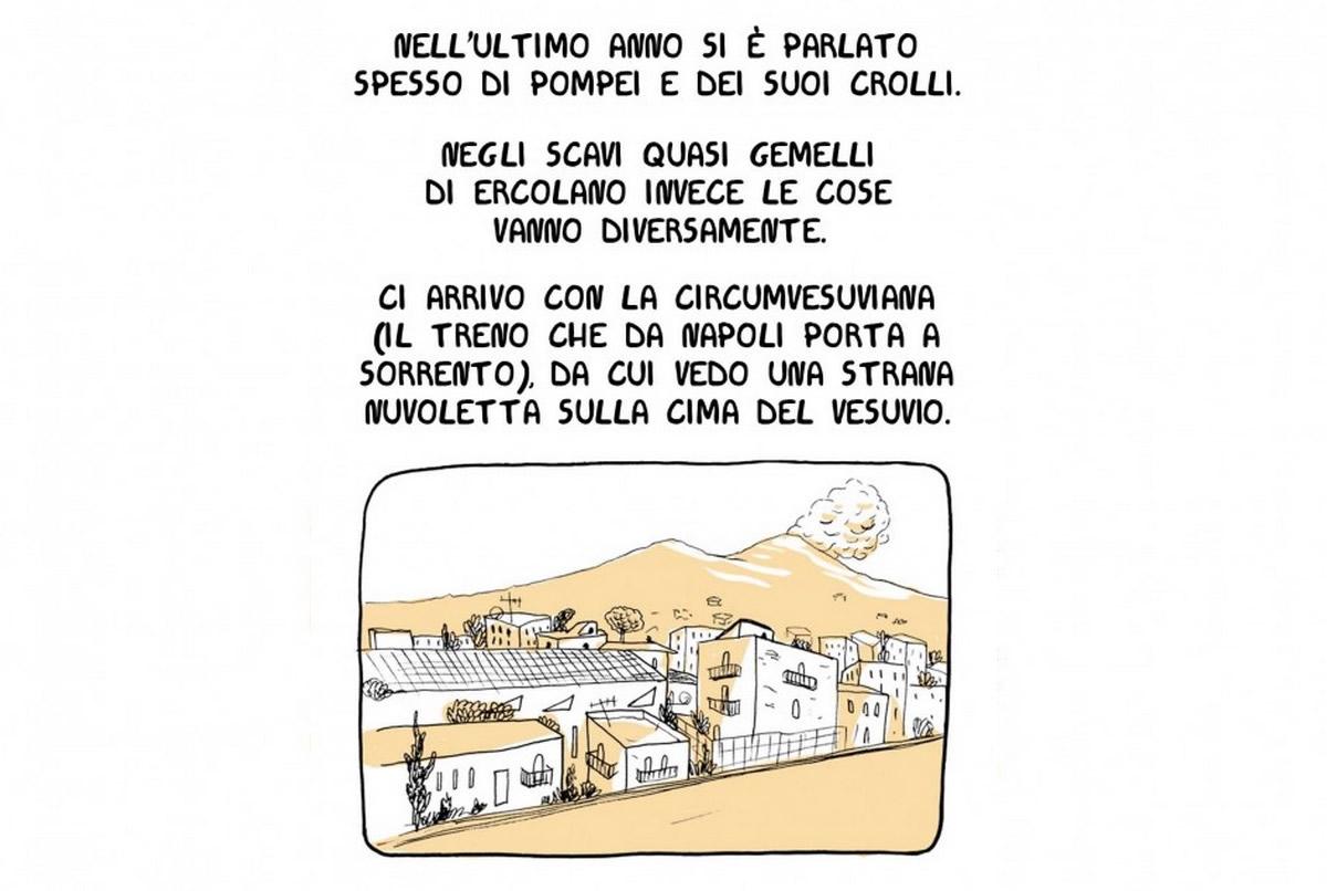 """tavola tratta da """"Ercolano, USA"""", di Cristina Portolano"""