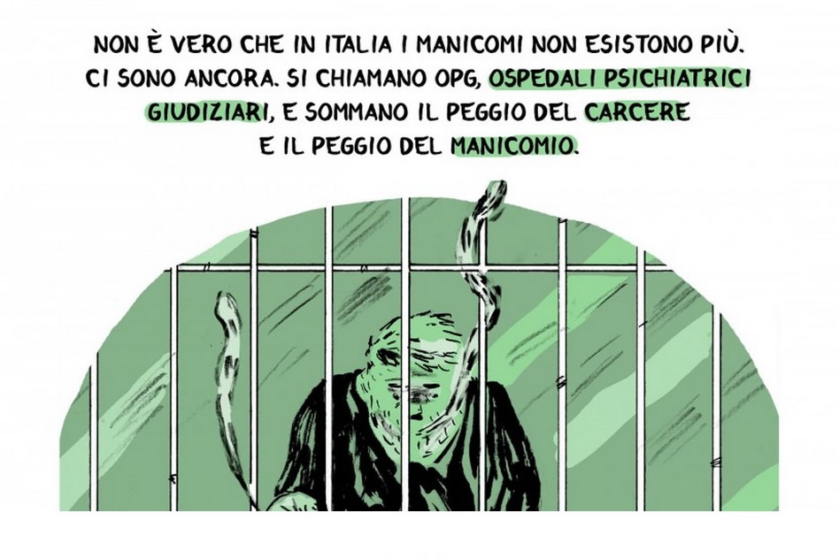 """tavola tratta da """"Gli ultimi manicomi"""", di Emanuele Racca"""