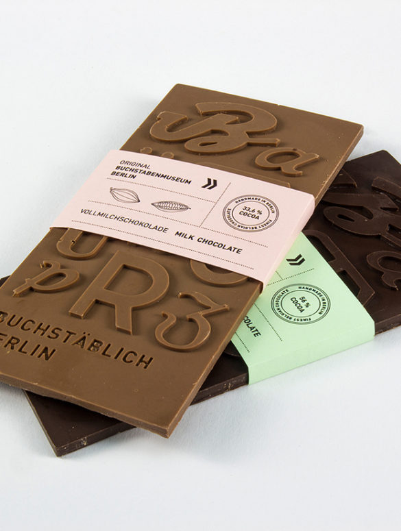 typografische schokolade 1