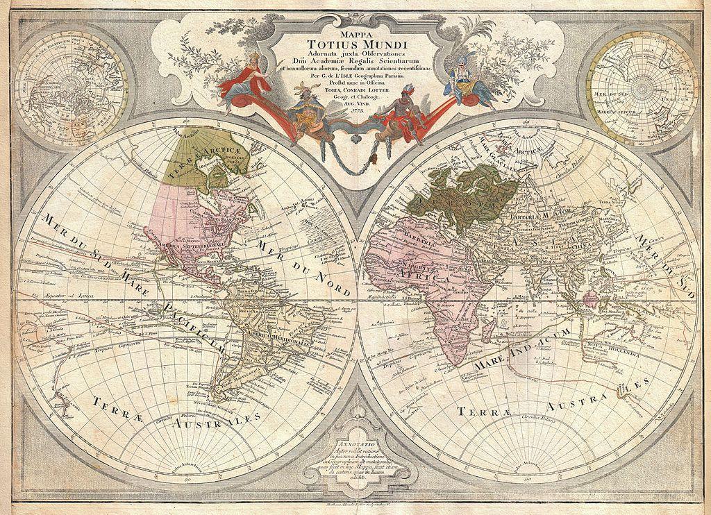 Cartina Antica Mondo.Tesori D Archivio Oltre 2000 Antiche Mappe Da Scaricare In Alta Risoluzione Frizzifrizzi