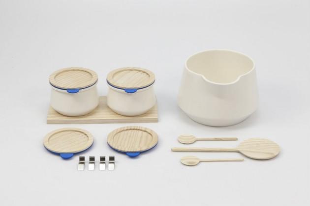 """""""Micu"""", di Andrea Müller. Contenitore per produrre in casa lo yogurt"""
