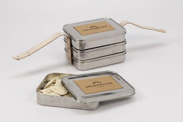 """""""Lunch Box System"""", di Jacob Strand. Sistema di contenitori resistenti, a lunga durata e impilabili, per trasportare il cibo"""
