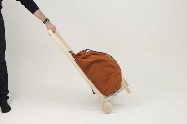 """""""Eco Carrying"""", di Jingyi Zhang Carrellino eco-sostenibile"""
