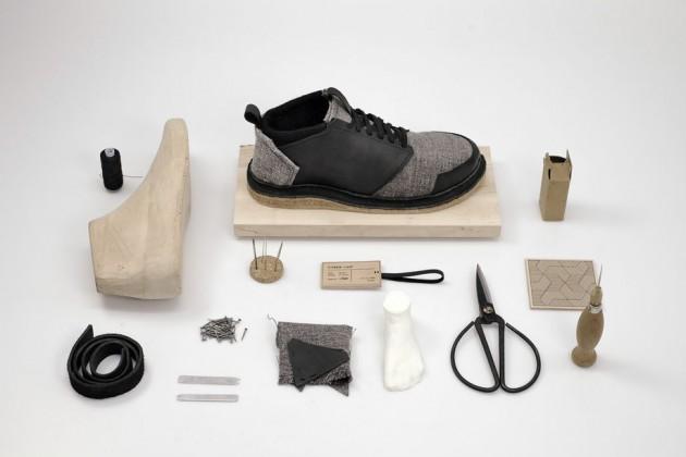 """""""Kreis - Lauf"""", di Stephan Thiemt. Un kit per creare (e riparare) in casa propria un paio di scarpe"""