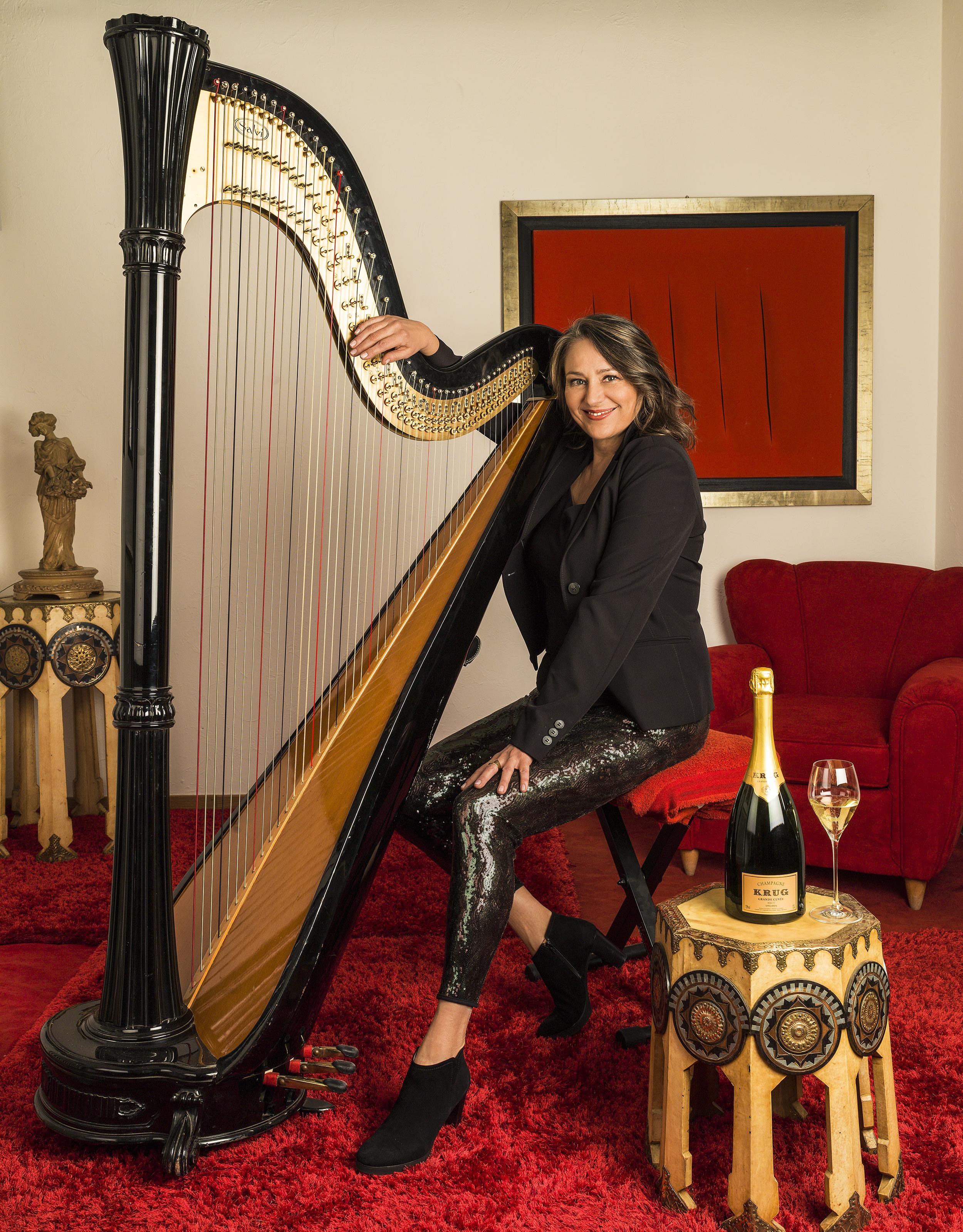 l'arpista Cecilia Chailly