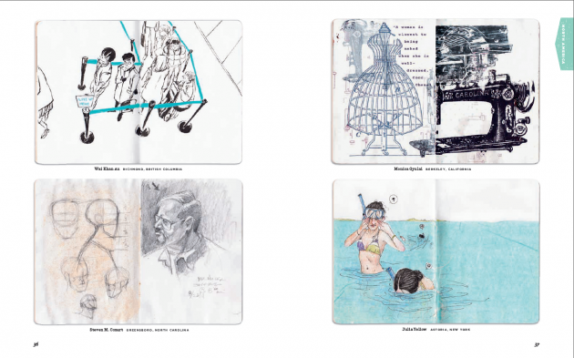 the sketchbook project book 2