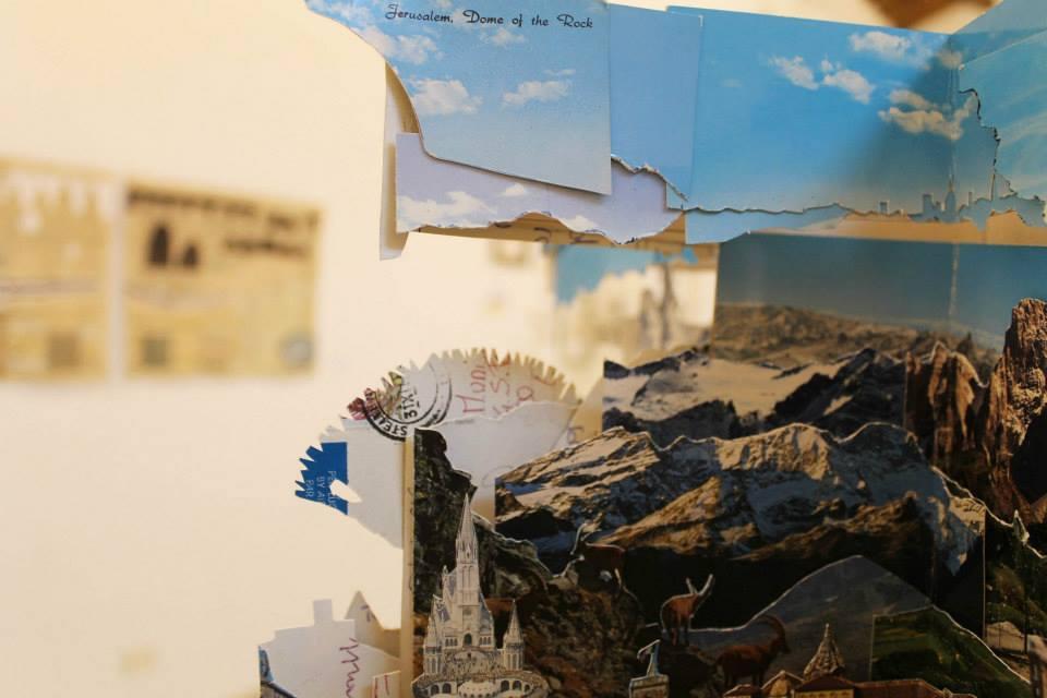 Archivio dei paesaggi immaginari – progetto collettivo di cartoline d'artista Paolo Bazzani (foto: Sabine Meyer)