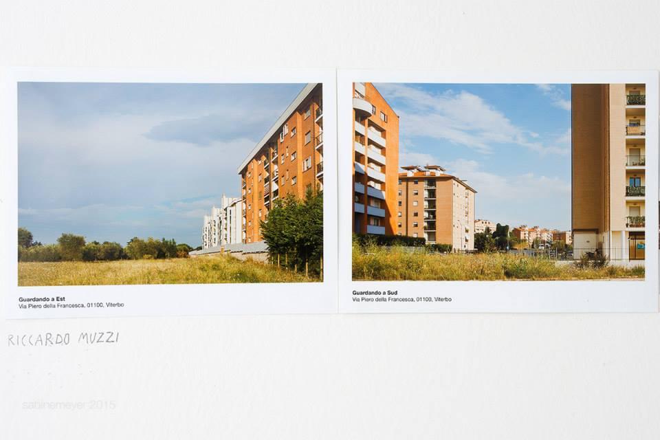 Archivio dei paesaggi immaginari – progetto collettivo di cartoline d'artista Riccardo Muzzi (foto: Sabine Meyer)