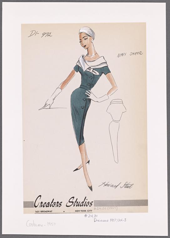 Creators Studios - 1957 (fonte: The New York Public Library)