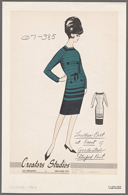 Creators Studios - 1963 (fonte: The New York Public Library)