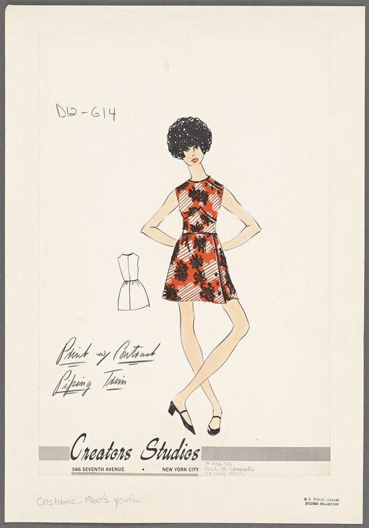Creators Studios - fine anni '60 (fonte: The New York Public Library)
