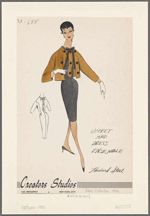 Creators Studios - 1959 (fonte: The New York Public Library)