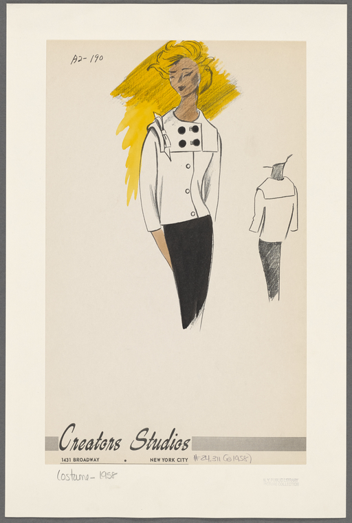 Creators Studios - 1958 (fonte: The New York Public Library)