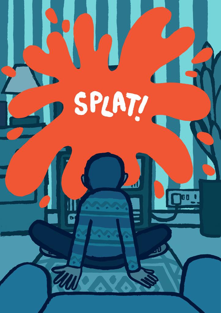 """Jean Jullien, """"Splat"""""""