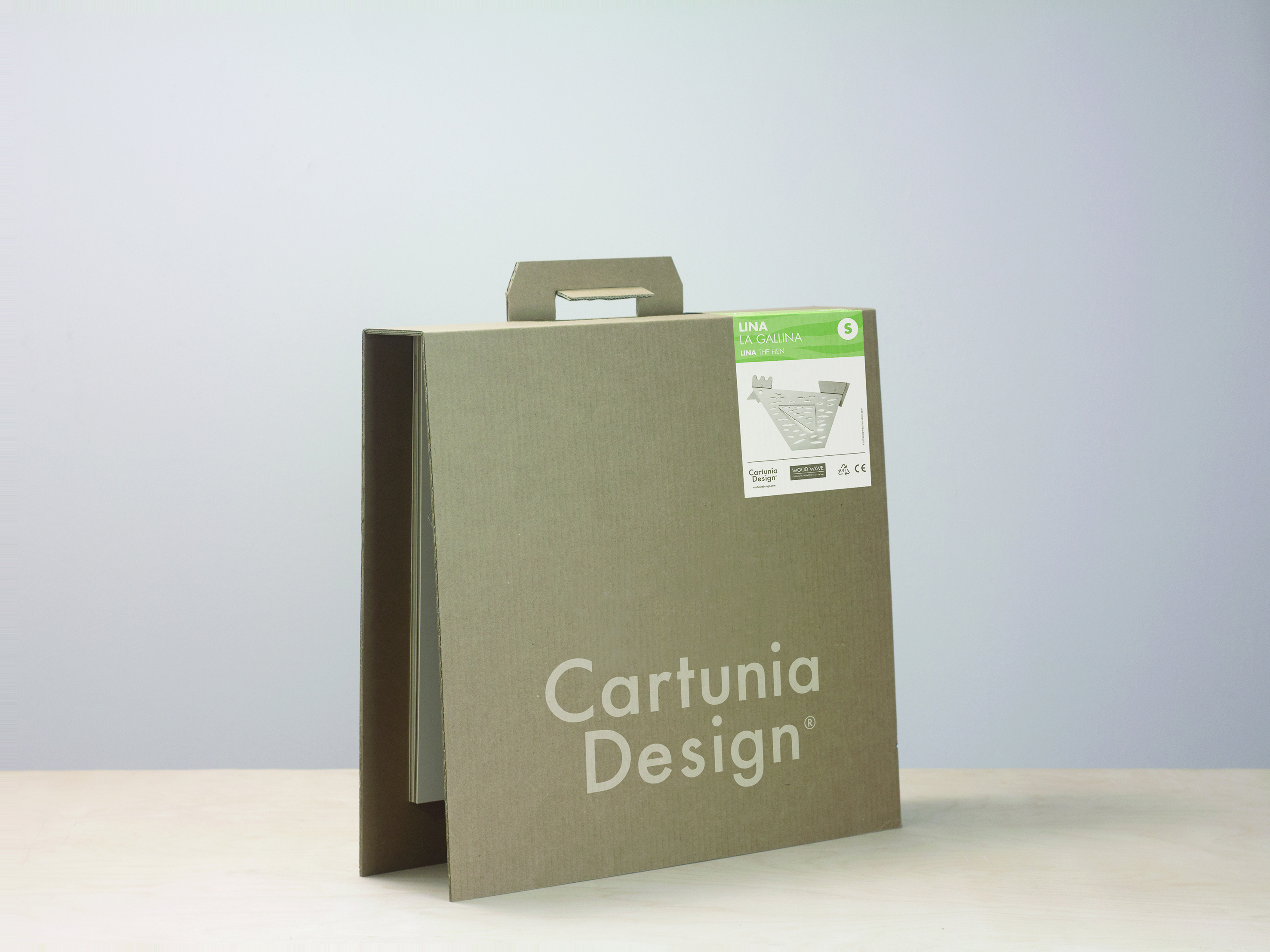 Cartunia Design, il packaging