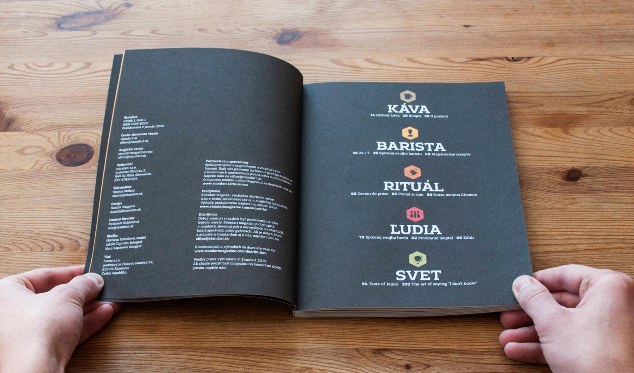 le immagini si riferiscono all'uscita in lingua ceca/slovacca ma il magazine è disponibile anche in inglese