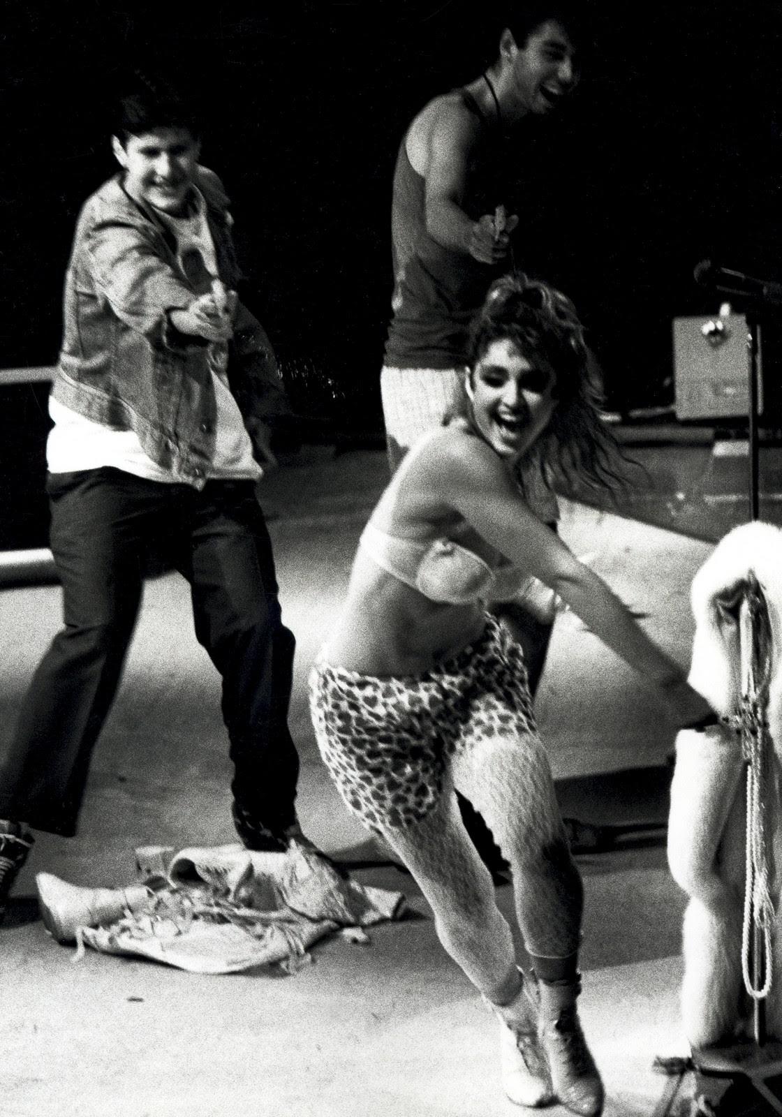 11 giugno 1985, Madonna e i Beastie Boys sul palco del Madison Square Garden di New York