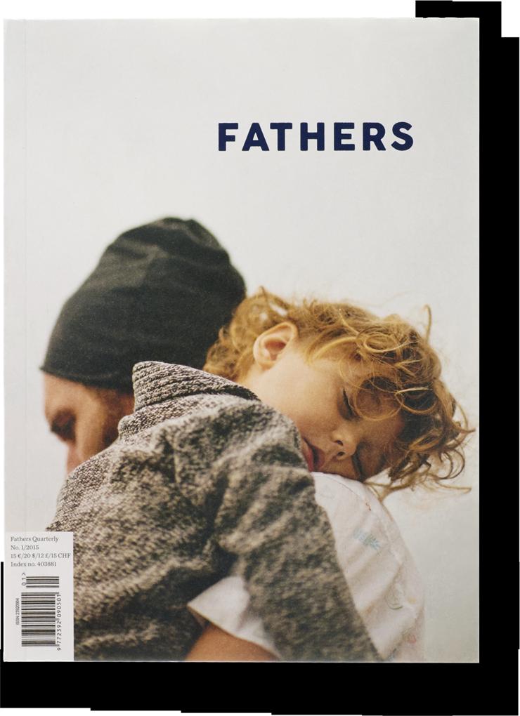la copertina di Fathers Quarterly #1