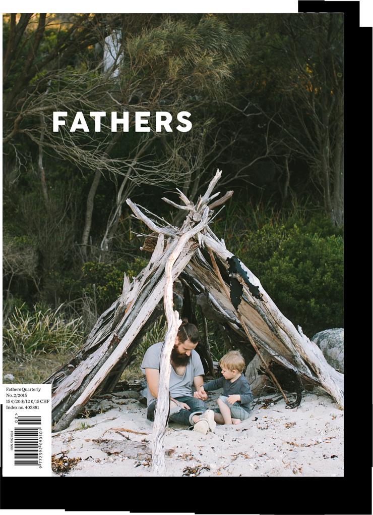 la copertina di Fathers Quarterly #2