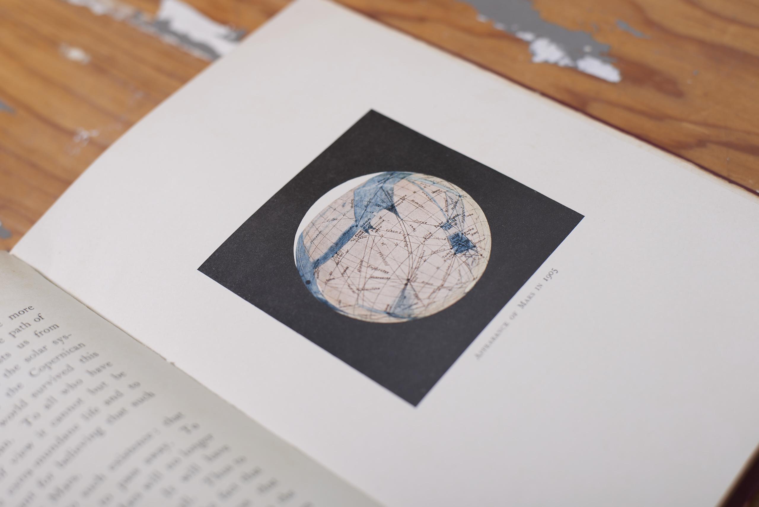 La mappa disegnata da Percival Lowell nel 1905
