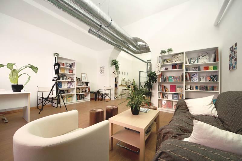 il nuovo Pilar Bookshop è a Roma, in via Panfilo Castaldi