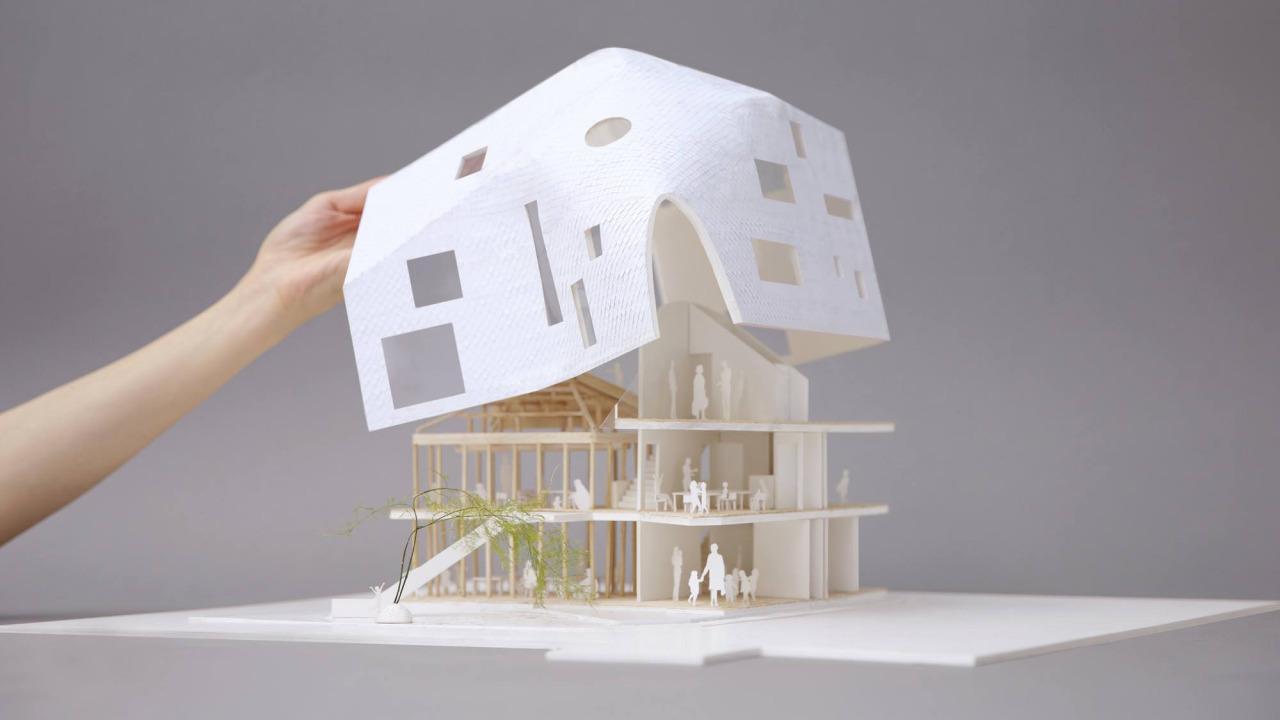 MAD Architects, Clover House kindergarten (fonte: modelarchitecture.tumblr.com)