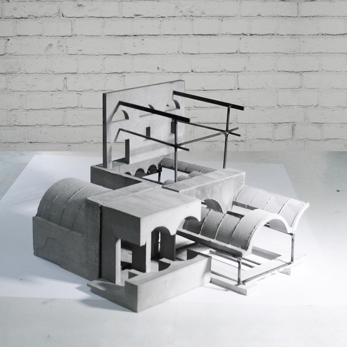 Roberto Boettger, Reconciling Infrastructural Artefacts (fonte: modelarchitecture.tumblr.com)