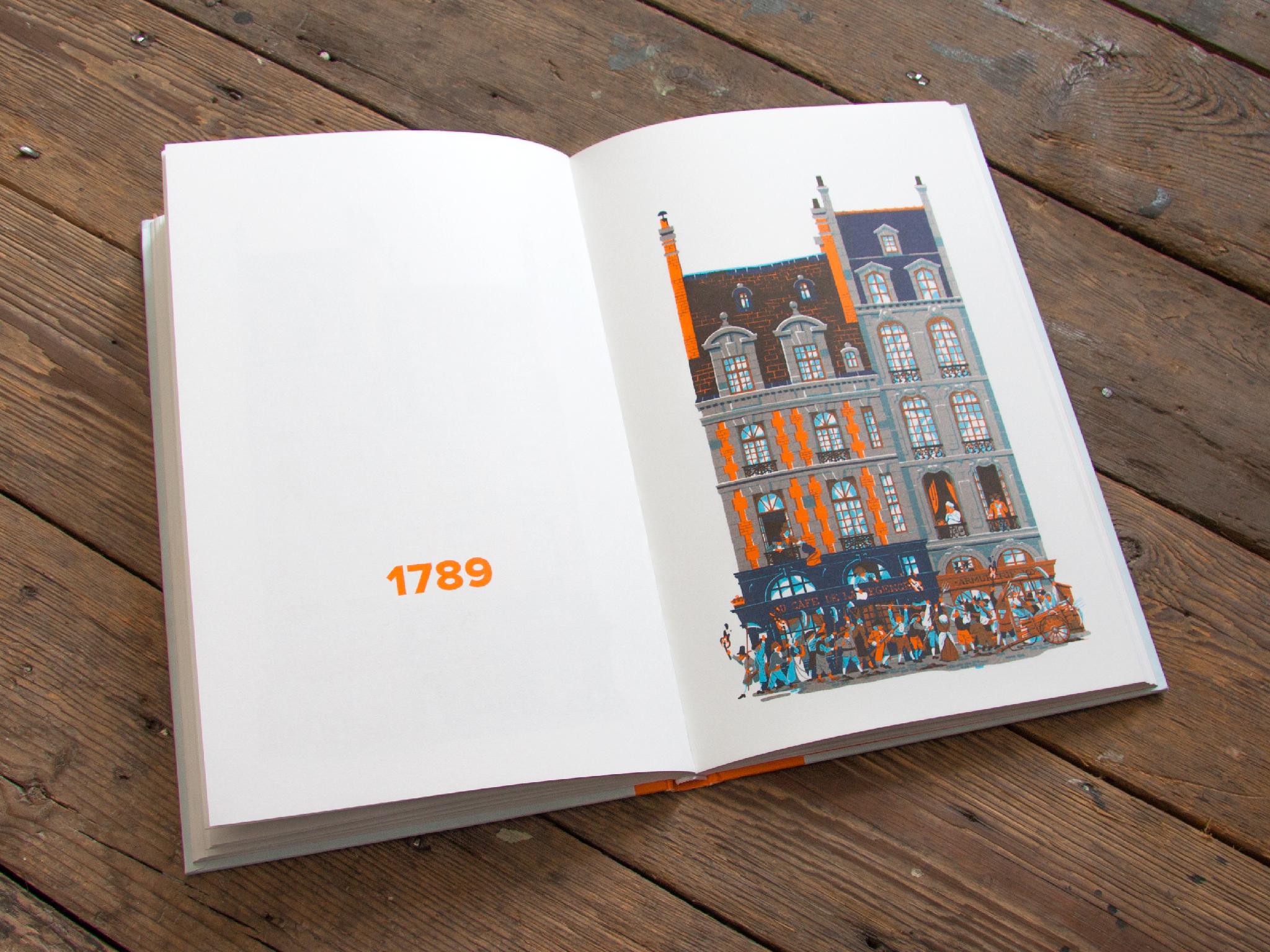 """""""750 Years in Paris"""", di Vincent Mahé, Nobrow Press 2015"""