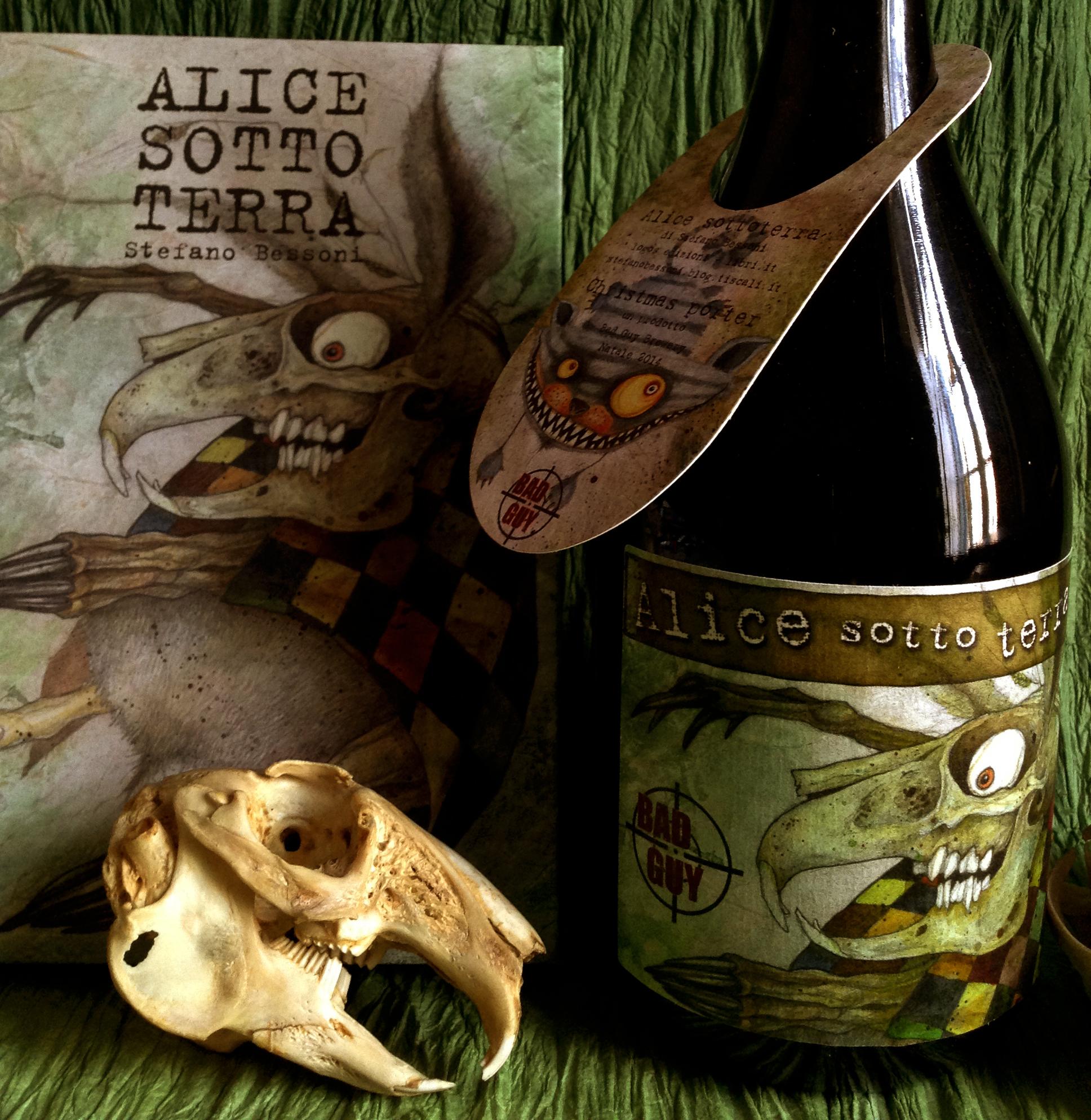 La birra di Alice Sotto terra ©Stefano Bessoni