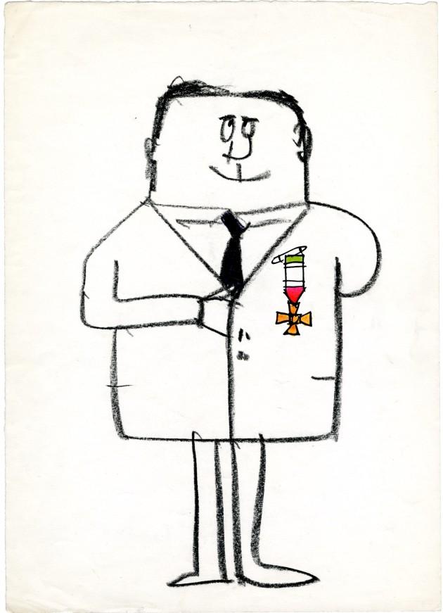 Manzi Riccardo uomo con medaglie senza cappello 1962 095
