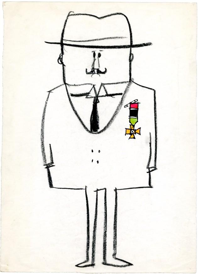Manzi Riccardo uomo con medaglie 1962 094