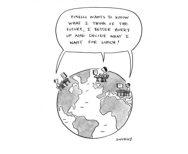 PIrelli cartoon 1 Imagine Future1