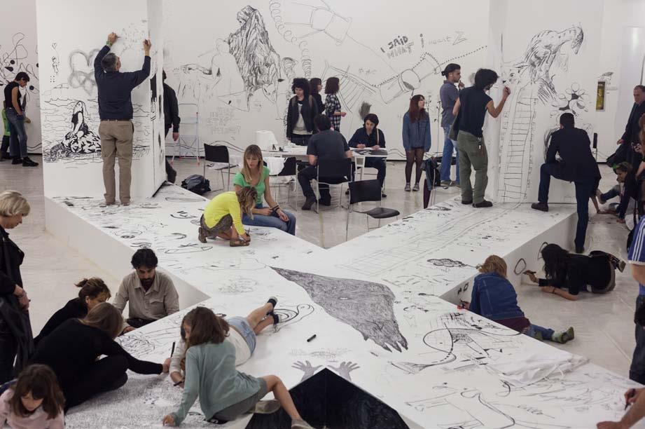 Il Secondo Congresso dei Disegnatori, Istituto Svizzero di Roma, 2012