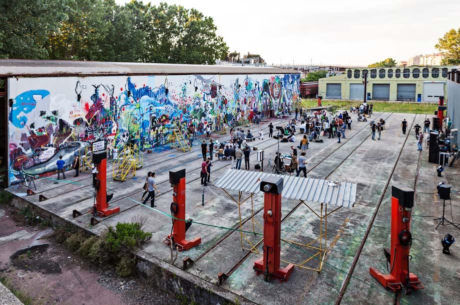 Il Secondo Congresso dei Disegnatori, Officine Occupate Ex-RSI, Roma, 2013