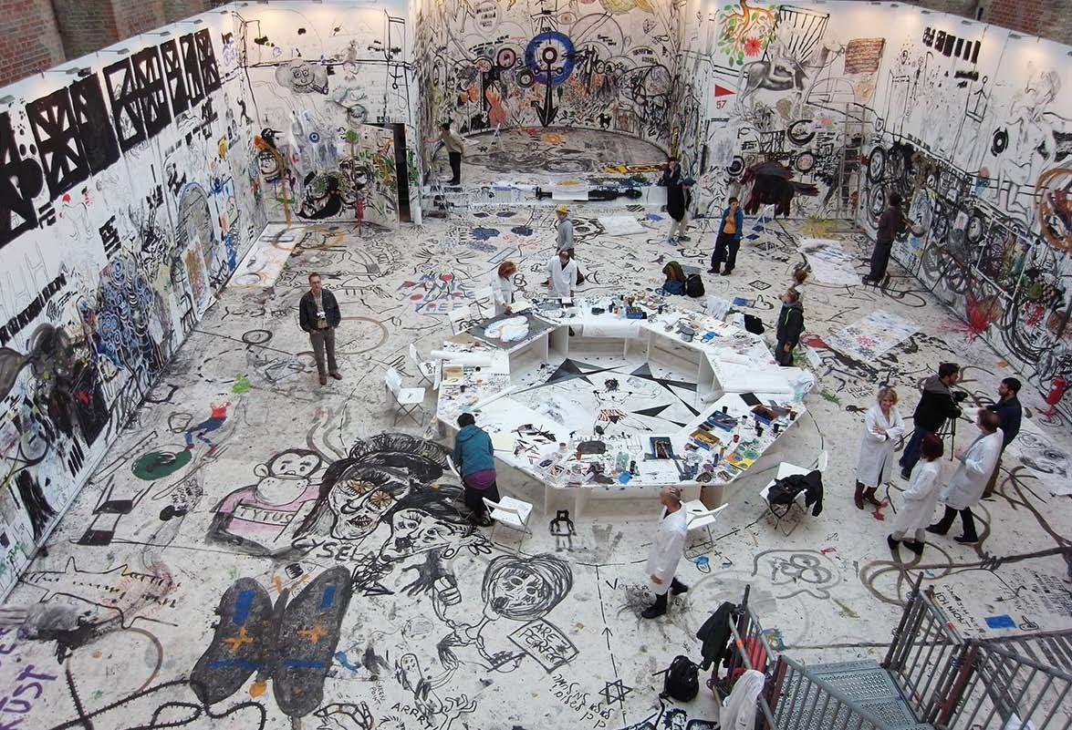 Draftsmen's Congress, St. Elizabeth Church, 7ª Biennale di Berlino, 2007