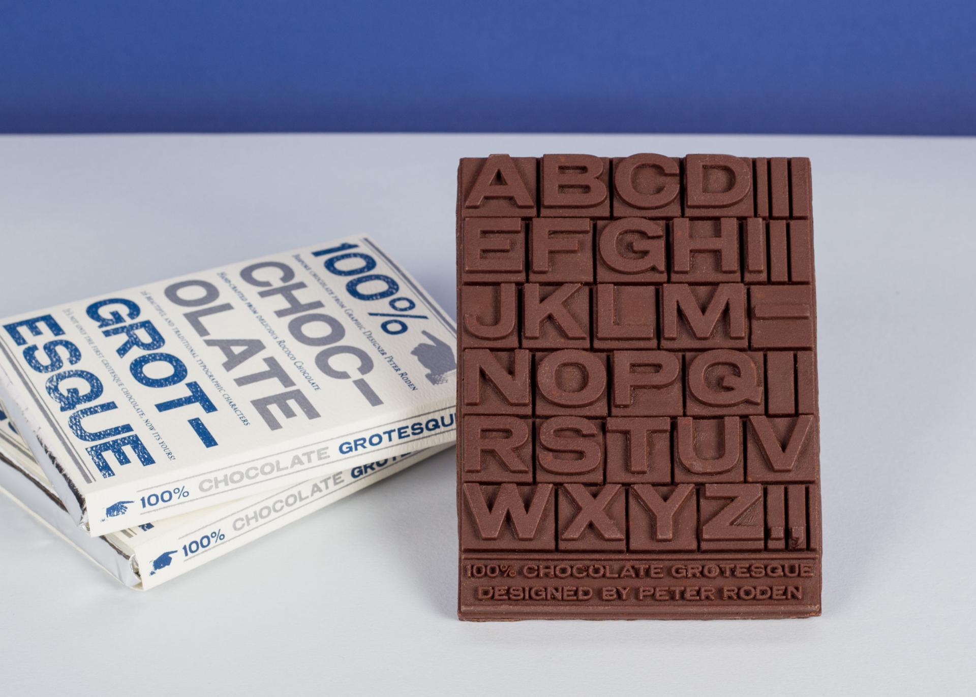 Peter Roden, Chocolate Grotesque, 2015