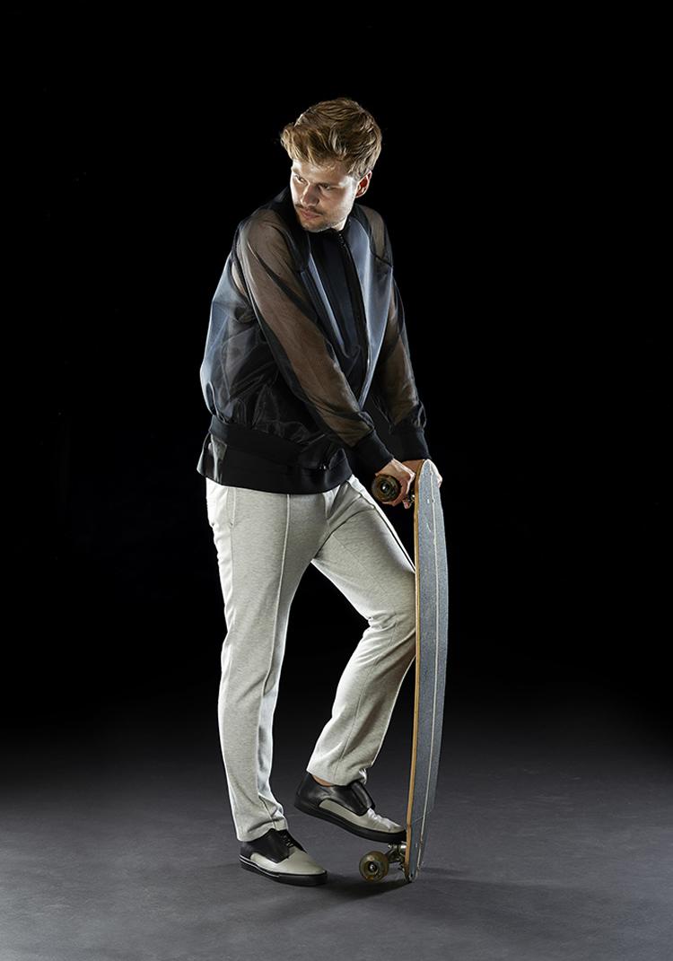"loeserbettels, ""Sport Couture"", 2015 modelli: Alex, Hauke Odendahl foto: Sascha Linke"