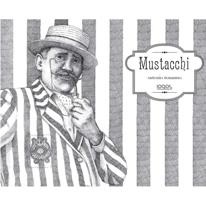 """Copertina del libro """"Mustacchi"""" © Antonio Bonanno"""
