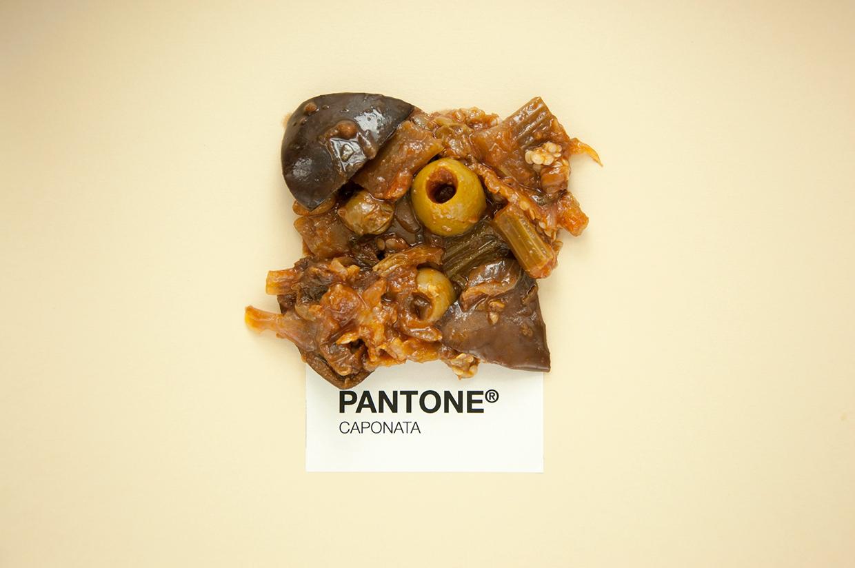 """Gerogia Calderone, Alessio Varvarà, """"Sicilian food as Pantone"""", 2015"""