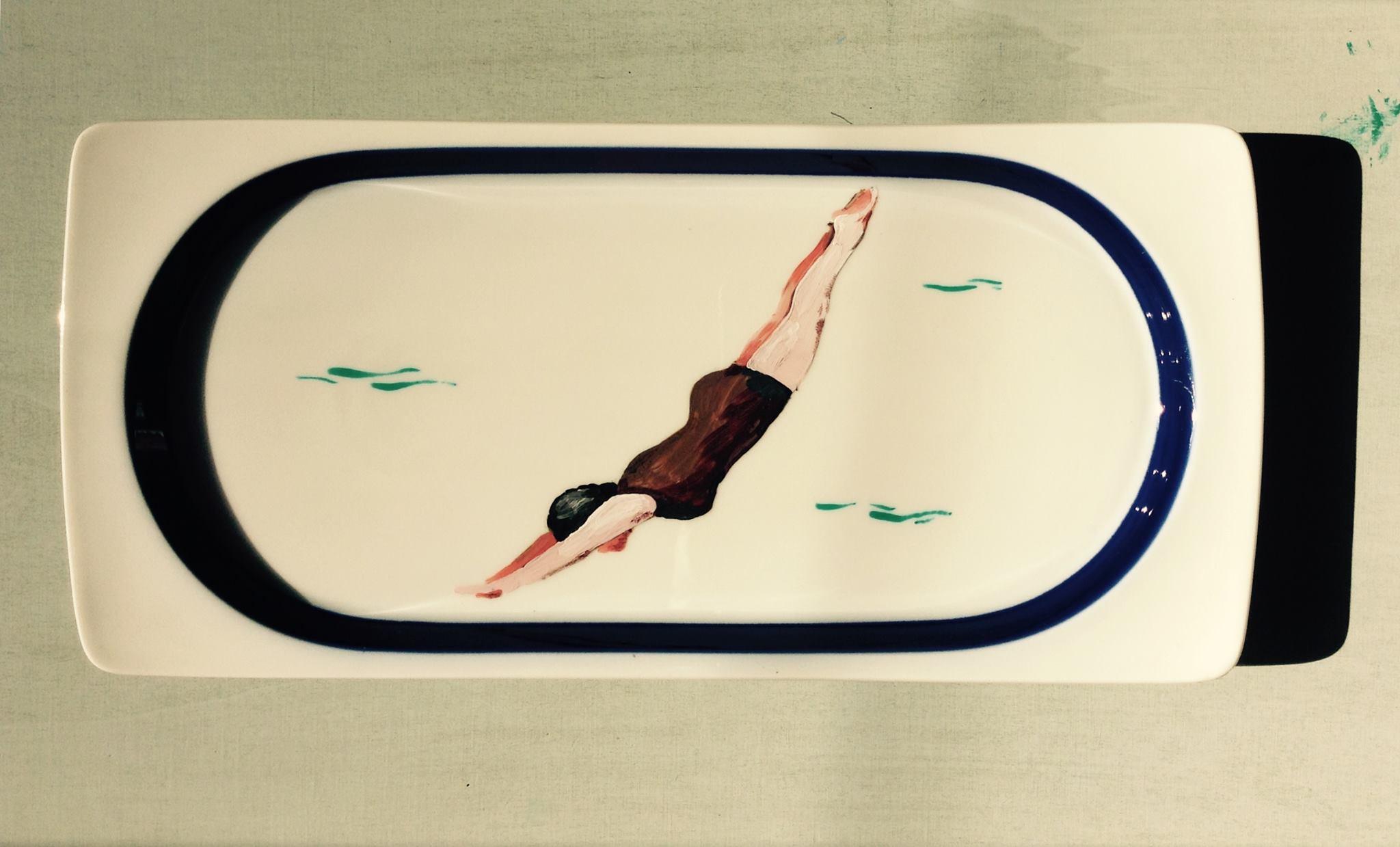 Marta Iorio, pezzo in mostra dalla serie 4mq di Endorfina