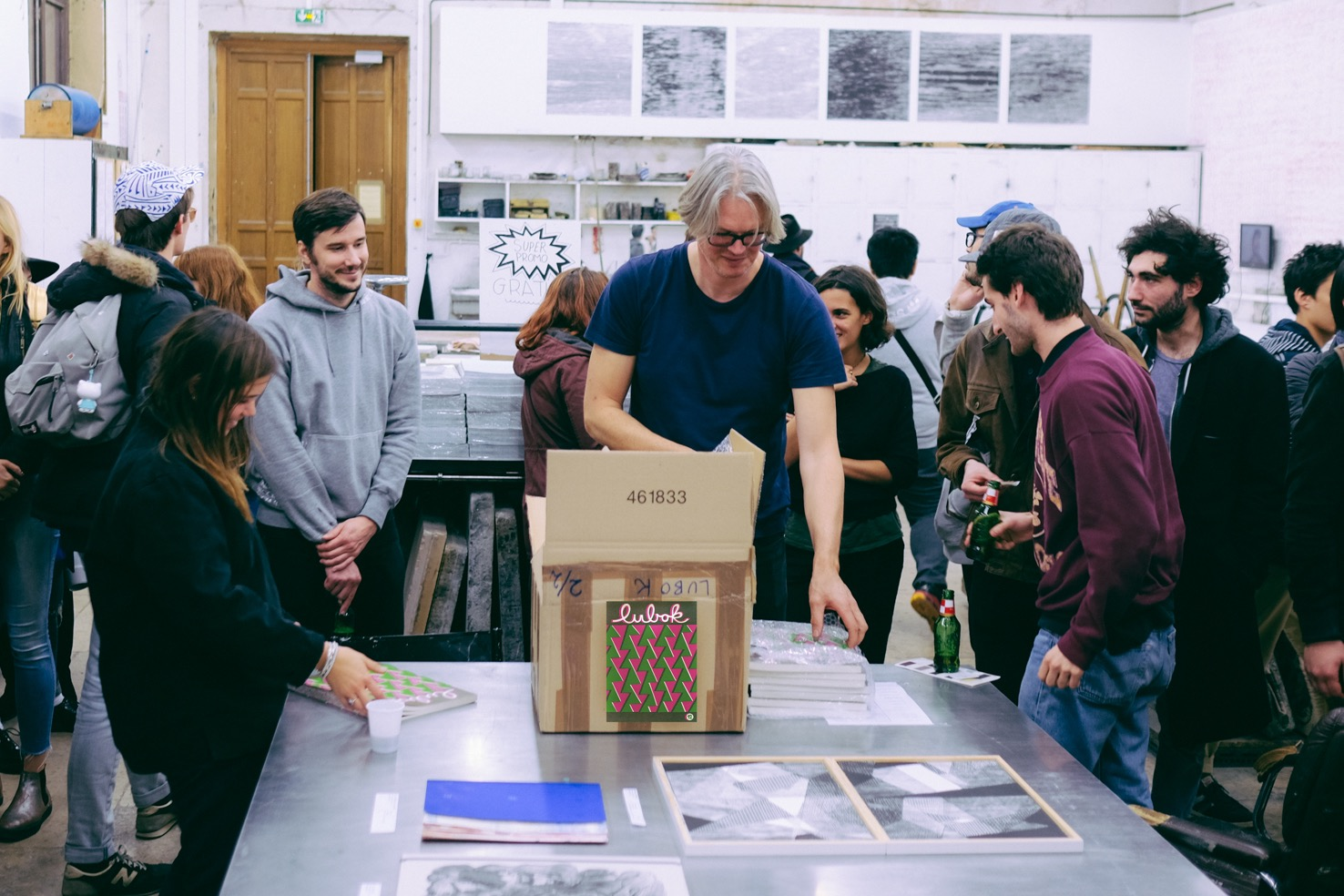 Offprint Paris, Lubok Workshop
