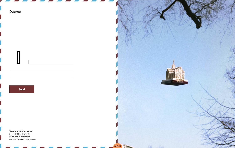 D di Duomo, nella versione web della cartolina (clicca per ingrandire, e leggere!)